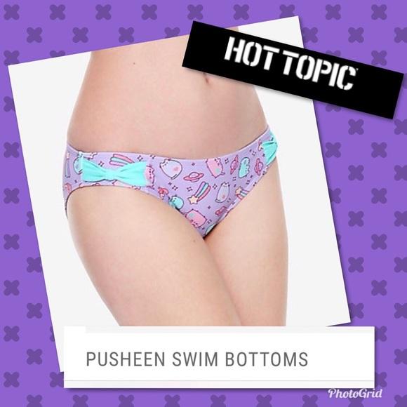 7abdc2ccdc Hot Topic Swim | Pusheen Lavender Bottom Size Xl Nwt | Poshmark